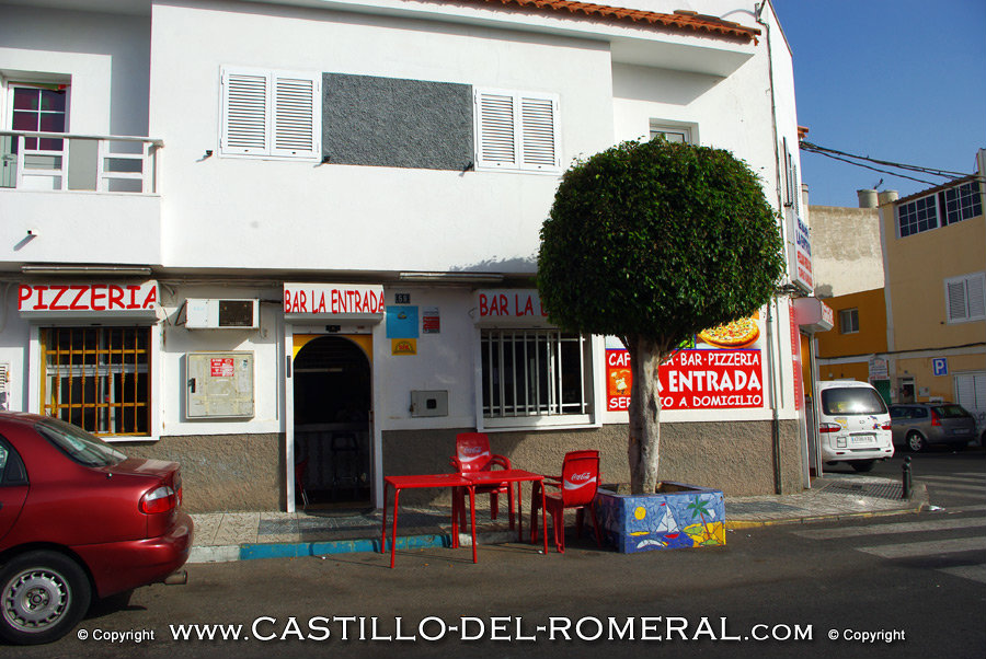 Bars und Restaurants Castillo del Romeral